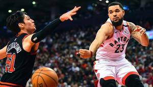 Raptors tie team record with 11th straight win