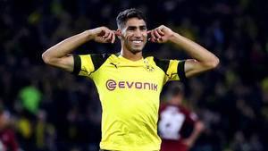 Borussia Dortmund looking to make Achraf Hakimi move permanent