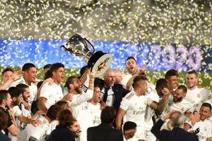 Real Madrid clinch LaLiga title with tenth win in a row