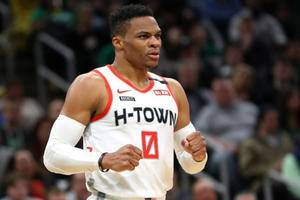 Rockets' Russell Westbrook tests positive for coronavirus