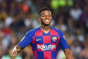 Barcelona's Ansu Fati become the youngest Champions League goal scorer ever