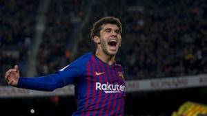 Getafe president confirms Carles Aleñá talks with Barcelona