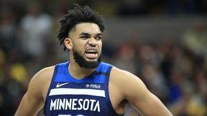 Karl-Anthony Towns out again with injured wrist