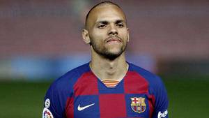 Barcelona complete surprise Martin Braithwaite signing from Leganes