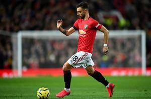 Bruno Fernandes makes history with his first goal for Man United