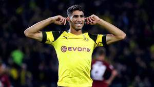 Borussia Dortmund looking to make Achraf Hakimi move permanent