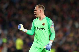 Ter Stegen confirmscontract negotiations are on hold
