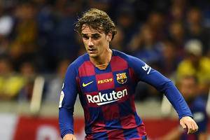 Barcelona suffer injury blow with Griezmann